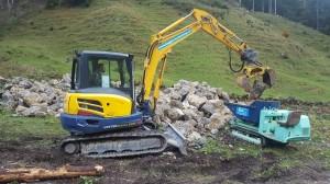 Aufwertungsprojekt Natursteinmauern Nesslau SG