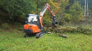 Aufwertungsprojekt Natursteinmauern Nesslau 2