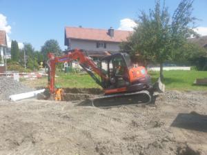 Werkleitungen in Widnau
