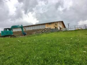 Umgebungsarbeiten Stallneubau Wildhaus