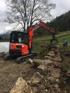 Erneuerung Natursteinmauern in Nesslau